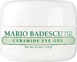 Düfte, Parfümerie und Kosmetik Pflegendes Augengel mit Ceramiden - Mario Badescu Ceramide Eye Gel