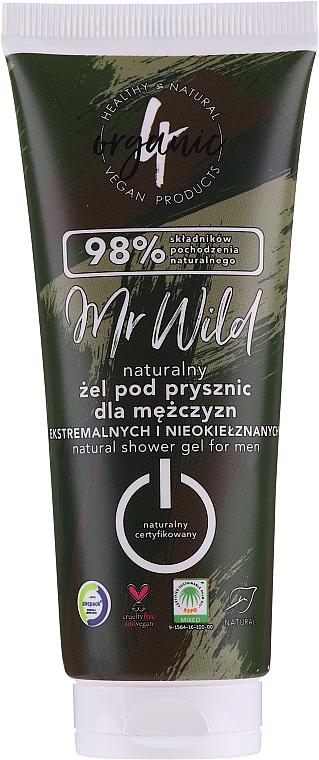 Duschgel für Männer - 4Organic Mr. Wild Man Shower Gel