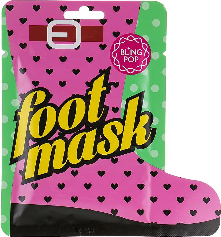 Sockenmaske für die Pediküre mit Sheabutter - Bling Pop Shea Butter Healing Foot Mask