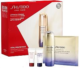 Düfte, Parfümerie und Kosmetik Gesichtspflegeset - Shiseido Vital Perfection (Augencreme 15ml + Gesichtskonzentrat 5ml + Gesichtscreme 5ml + Augenmaske 1 St.)