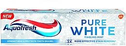 Düfte, Parfümerie und Kosmetik Whitening Zahnpasta Tingling Mint - Aquafresh Pure White Tingling Mint