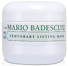 Düfte, Parfümerie und Kosmetik Glättende straffende und porenverfeinernde Anti-Falten Gesichtsmaske mit Lifting-Effekt - Mario Badescu Temporary Lifting Mask