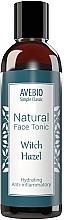 Düfte, Parfümerie und Kosmetik Feuchtigkeitsspendendes Gesichtstonikum mit Zaubernuss - Avebio Natural Face Tonic Witch Hazel