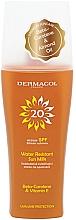 Düfte, Parfümerie und Kosmetik Wasserfestes Sonnenschutzmilch-Spray SPF 20 - Dermacol Sun Water Resistant Milk Spray SPF20