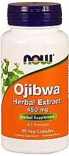 Düfte, Parfümerie und Kosmetik Kapsułki ekstrakt ziołowy Ojibwe, 450 mg - Now Foods Ojibwa Herbal Extract Veg Capsules