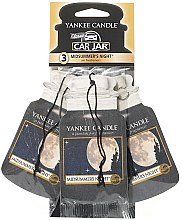 Düfte, Parfümerie und Kosmetik Auto-Lufterfrischer 3 St. - Yankee Candle Car Jar Midsummers Night