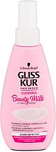 Düfte, Parfümerie und Kosmetik Gliss Kur mit Milch-Protein für strapaziertes und geschädigtes Haar - Gliss Kur Repairing Beauty Milk