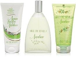 Düfte, Parfümerie und Kosmetik Instituto Espanol Aire de Sevilla Azahar - Kosmetikset (Eau de Toilette/150ml + Körpercreme/150ml + Duschgel/150ml)