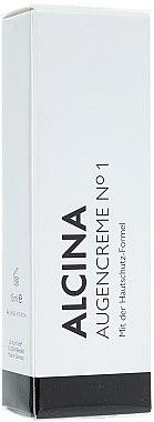 Augencreme №1 mit Hautschutzformel - Alcina  — Bild N1