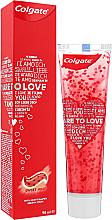 Düfte, Parfümerie und Kosmetik Zahnpasta Dare To Love rot - Colgate Dare To Love