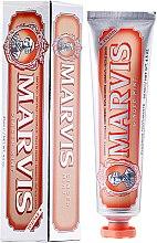 Düfte, Parfümerie und Kosmetik Zahnpasta mit Ingwer und Minze - Marvis Ginger Mint + Xylitol