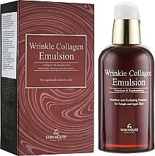Düfte, Parfümerie und Kosmetik Gesichtsemulsion gegen Falten mit Kollagen - The Skin House Wrinkle Collagen Emulsion