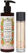 Düfte, Parfümerie und Kosmetik Panier Des Sens Rose Geranium - Duftset (Eau de Toilette 50ml + Körperlotion 250ml)