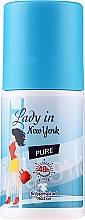 Düfte, Parfümerie und Kosmetik Deo Roll-on Antitranspirant - Lady In New York Pure Deodorant