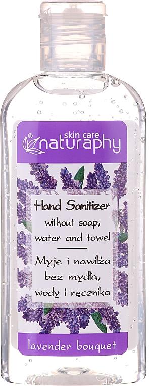 Antibakterielles Handgel mit Alkohol und Lavendelduft - Bluxcosmetics Naturaphy Alcohol Hand Sanitizer With Lavender Fragrance (Mini)