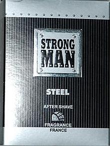 After Shave Lotion Steel - Strong Men After Shave Steel