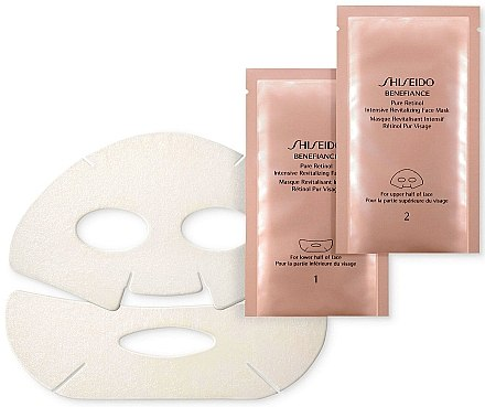 Intensiv revitalisierende Gesichtsmaske - Shiseido Benefiance Pure Retinol Intensive Revitalizing Face Mask — Bild N2