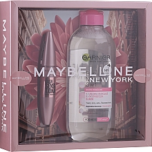 Düfte, Parfümerie und Kosmetik Make-up Set (Mascara 9.5ml + Mizellenwasser 400ml) - Maybelline New York