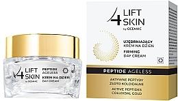 Düfte, Parfümerie und Kosmetik Straffende Tagescreme für das Gesicht mit aktiven Peptiden und kolloidalem Gold - Lift4Skin Peptide Ageless Day Cream