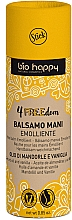 Düfte, Parfümerie und Kosmetik Weichmachender Handbalsam mit Bio-Hanföl, Süßmandelöl und Vanilleduft - Bio Happy 4FREEdom Emolliant Hand Balm