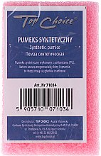 Düfte, Parfümerie und Kosmetik Synthetischer Bimsstein 71034 rosa - Top Choice