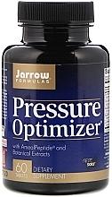 Düfte, Parfümerie und Kosmetik Nahrungsergänzungsmittel zur Normalisierung des Blutdrucks - Jarrow Formulas Pressure Optimizer