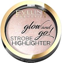 Düfte, Parfümerie und Kosmetik Highlighter - Eveline Cosmetics Glow And Go Strobe Highlighter
