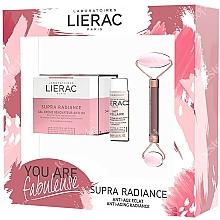 Düfte, Parfümerie und Kosmetik Gesichtspflegeset - Lierac Supra Radiance Set (Gesichtscreme 50ml + Gesichtsmilch 30ml + Massageroller 1 St.)