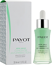 Düfte, Parfümerie und Kosmetik Mattierendes Gesichtsserum gegen Hautunreinheiten - Payot Pate Grise Concentre Anti-Imperfections