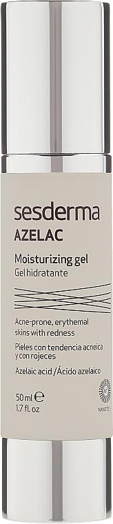 Feuchtigkeitsspendendes Gesichtsgel - SesDerma Laboratories Azelac Moisturizing Gel — Bild N2
