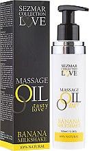 Düfte, Parfümerie und Kosmetik Entspannungs Massageöl Love mit Bananenaroma - Hristina Cosmetics Sezmar Collection Love Massage Oil