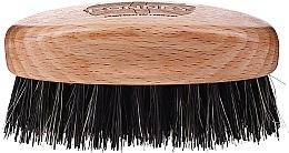 Düfte, Parfümerie und Kosmetik Holzbartbürste mit Naturborsten hell - Ronney Professional Barber Small Brush