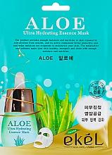Düfte, Parfümerie und Kosmetik Feuchtigkeitsspnedende Tuchmaske mit Aloe-Vera-Extrakt - Ekel Aloe Ultra Hydrating Essence Mask