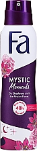 Düfte, Parfümerie und Kosmetik Deospray Mystic Moments - Fa Deodorant Mystic Moments Seductive Fragrance