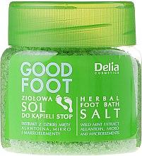 Düfte, Parfümerie und Kosmetik Kräuter Fußbadesalz - Delia Cosmetics Good Foot Herbal Foot Bath Salt