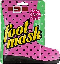 Düfte, Parfümerie und Kosmetik Sockenmaske für die Pediküre mit Sheabutter - Bling Pop Shea Butter Healing Foot Mask