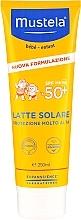 Düfte, Parfümerie und Kosmetik Feuchtigkeitsspendende Sonnenschutzmilch für Babys und Kinder SPF 50 + - Mustela Bebe Very High Protection Sun Milk SPF50+