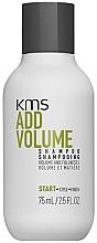 Düfte, Parfümerie und Kosmetik Shampoo für mehr Volumen und Fülle - KMS California AddVolume Shampoo (Mini)