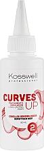 Düfte, Parfümerie und Kosmetik Dauerwelle-Lotion für empfindliches Haar - Kosswell Professional Curves Up 2
