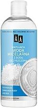 Düfte, Parfümerie und Kosmetik Mattierendes Mizellenwasser mit Backpulver - AA Skin Food