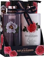Düfte, Parfümerie und Kosmetik Körperpflegeset - Baylis & Harding Boudoire Rose (Duschgel 300ml + Körperlotion 300ml)