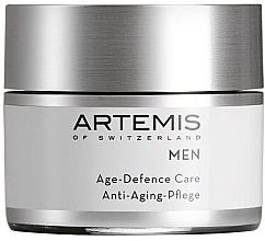 Düfte, Parfümerie und Kosmetik Regenerierende Ant-Aging Gesichtscreme für Männer - Artemis of Switzerland Men Age Defense Care