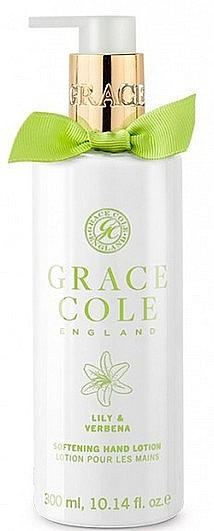 Aufweichende Handlotion mit Lilie und Eisenkraut - Grace Cole Lily & Verbena Hand Lotion