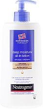 Düfte, Parfümerie und Kosmetik Straffende Emulsion für den Körper - Neutrogena Deep Moisture Creamy Oil