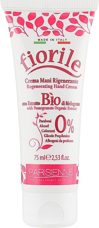 Regenerierende Handcreme mit Bio Granatapfelextrakt - Parisienne Italia Fiorile Pomergranate Hand Cream