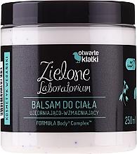 Düfte, Parfümerie und Kosmetik Straffende Körperlotion mit Sheabutter und Vitamin E - Zielone Laboratorium