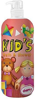 """Duschgel & Badeschaum für Kinder """"Cherry"""" - Hegron Kid's Cherry Bath & Shower"""