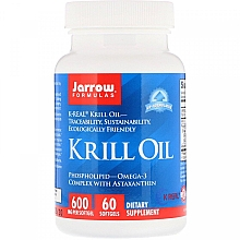 Düfte, Parfümerie und Kosmetik Nahrungsergänzungsmittel Krillöl - Jarrow Formulas Krill Oil