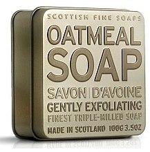 Düfte, Parfümerie und Kosmetik Parfümierte Körperseife - Scottish Fine Soaps Oatmeal Soap In A Tin