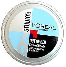 Düfte, Parfümerie und Kosmetik Modelierende Haarcreme - L'Oreal Paris Studio Line Out of Bed Cream